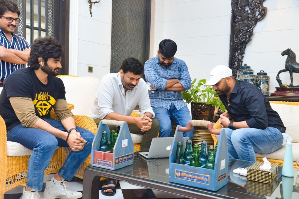 Megastar Chiru Launches Sridevi Sodacenter Movie Song